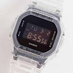 Цифровые часы в стиле унисекс с прозрачным ремешком Casio G-Shock GM-5600SG-9ER