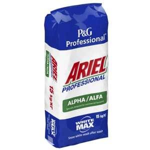 Стиральный порошок Ariel Professional Alpha для белого цвета 15 кг
