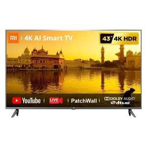 Телевизор 43'' Xiaomi Mi TV 4A, Smart TV, 4K