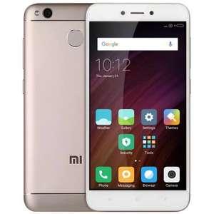 Xiaomi Redmi 4X 3GB GOLDEN  $114.99  с кодом Bfriday25-5 (код работает один раз на аккаунт)