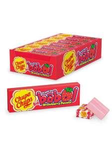 Жевательная резинка Chupa Chups big babol со вкусом клубники, 24шт по 21г (550г)