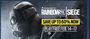 Бесплатные выходные в RainbowSix Siege