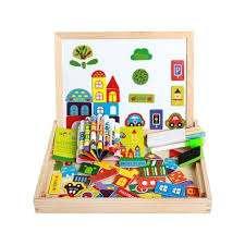 Piramigo магнитная доска с игрушками