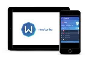 Windscribe VPN: 20 ГБ в месяц бесплатно
