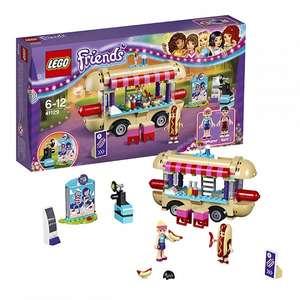 Lego Friends Парк развлечений: фургон с хот-догами 41129 за 949р. + самовывоз бесплатно (курьером от 99р.).