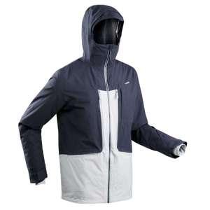 Куртка горнолыжная для фрирайда мужская темно-синяя FR 500 Wedze