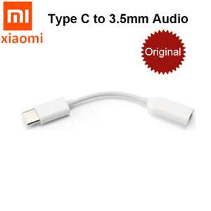 Оригинальный адаптер Xiaomi Type-C - 3.5mm за 1.99$