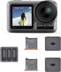 Экшн-камера DJI Osmo Action + зарядный комплект, оригинал (из США, нет прямой доставки)