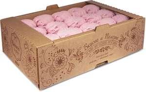 Зефир с малиной (коробка 1 кг) + Бабкины семечки 0,5 кг