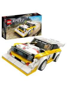 Конструктор LEGO Speed Champions 76897 1985 Audi Sport quattro S1