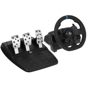 Игровой руль Logitech G923 (PC, PS4, PS5)