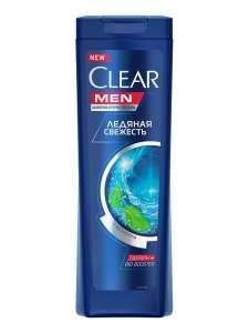 CLEAR Шампунь для мужчин антибактериальный эффект Ледяная свежесть с ментолом 400 мл