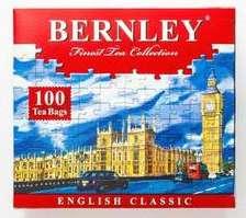 [СПб] Чай черный Bernley English сlassic в пакетиках, 100 шт.