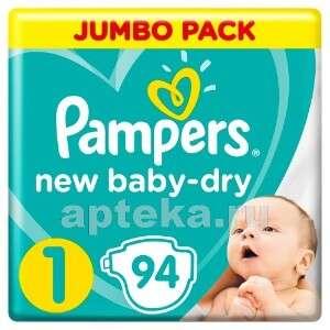 Памперсы PAMPERS NEW BABY-DRY, размер 1, N94