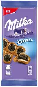 "4 шт. - Шоколад Milka Oreo Sandwich с целыми «Орео» - Акция ""3=4"""