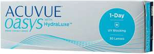 Контактные линзы Acuvue OASYS 1-Day with HydraLuxe (30 линз), R 8,5, D -1,25