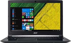 "15.6"" Ноутбук ACER Aspire A715-72G (Core i7 / GeForce GTX 1050 4Гб / 1Tb HDD + 128Gb SSD)"