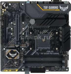 Материнская плата Asus TUF B450M-PRO Gaming, SocketAM4, AMD B450, mATX, Ret