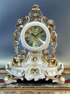 Часы La Minor настольные, плавный ход, искусственный камень, 22х12.5х29 см