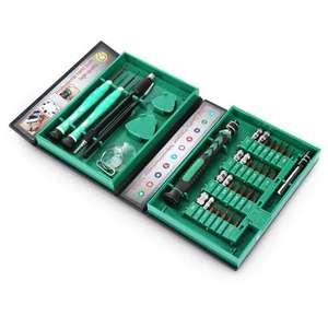 Набор отверток и инструмента (38 в 1) для ремонта мелкой электроники за 528р. (8,99$) по коду AC3SDJ + доставка бесплатно.