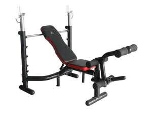 Комплект DFC скамья и стойка D310 черный/красный