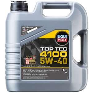Моторное масло LIQUI MOLY Top Tec 4100 5W-40 4л (продавец Яндекс-Маркет)