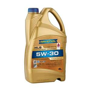 Масло моторное синтетическое (5W30, 1 л.) Ravenol 1111119-001