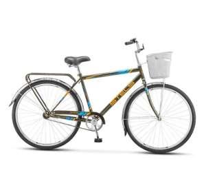 """Велосипед Stels Navigator 28"""" 300 Gent Z010 с корзиной"""