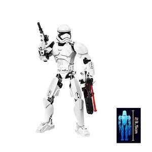 Конструктор типа лего фигурка персонажа Stormtrooper из Звездных войн за 233р. (3,88$) по коду RGBLAF16 + доставка 119р. (1,99$).