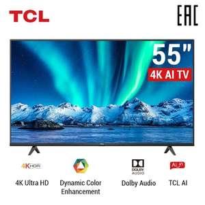 "Телевизор TCL 55P615 55"" 4K Android TV на Tmall"