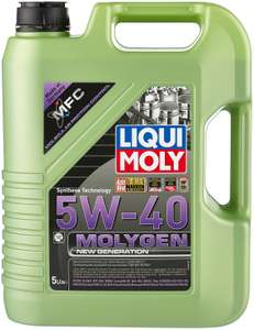 Синтетическое моторное масло LIQUI MOLY Molygen New Generation 5W-40, 5 л