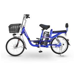 Электровелосипед HIPER HE-BS265 Blue 2021, 400 вт