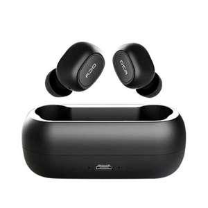 Bluetooth наушники с микрофоном QCY T1C Мини за 19.99$
