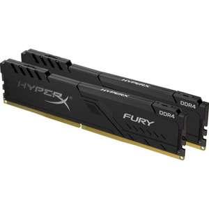 Оперативная память Kingston DDR4 16Gb (2x8Gb) 3200 MHz pc-25600 HyperX FURY