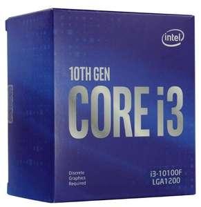 Процессор INTEL Core i3 10100F, LGA 1200, BOX