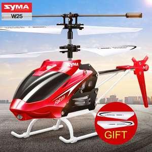 Syma W25 мини вертолет с гироскопом за 12,99$ + лопасти в подарок