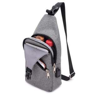 Повседневный рюкзак с USB за $3.89