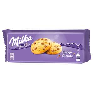 3 упаковки MILKA печенье с кусочками молочного шоколада 168 г