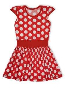 Летнее платье из хлопка для девочки. Раз. 104-128