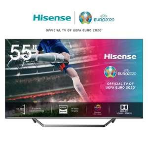 """Телевизор 55"""" Hisense 55U7QF 4K UHD Smart TV на Tmall"""