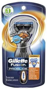 Бритвенный станок Gillette Fusion5 ProGlide Flexball ,черный/серебристый, сменные кассеты 3 упаковки (2=3)