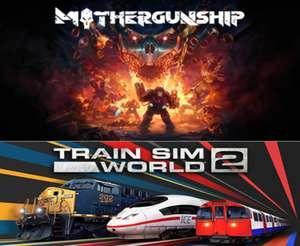 [PC] Mothergunship и Train Sim World 2 бесплатно