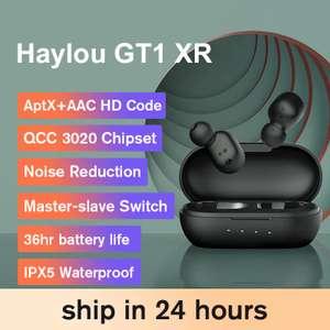 TWS наушники Haylou GT1 XR с поддержкой APT-X