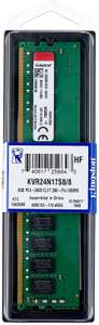 Оперативная память Kingston ValueRAM 8GB DDR4 2400MHz