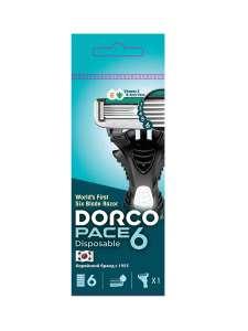 Станок для бритья Dorco Pace 6 одноразовый