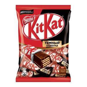 Темный шоколад с хрустящей вафлей KitKat Dark 169 г