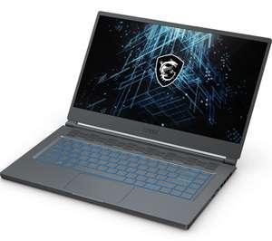 "[не везде] 15.6"" Ноутбук MSI Stealth 15M A11SEK-206XRU (1920x1080, IPS, Intel i7 1185G7, RAM 16 ГБ, SSD 512 ГБ, GeForce RTX 2060 6 ГБ, DOS)"