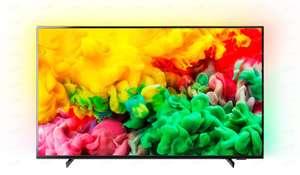 "4K Телевизор Philips 55PUS6704/60 55"" с функцией Ambilight и Smart TV"
