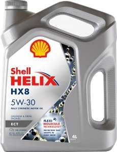 Моторное масло Shell HELIX HX8 ECT 5W-30 Синтетическое 4 л