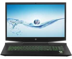 "17.3"" Ноутбук HP Pavilion Gaming 10750H, 16 ГБ, 512 ГБ, RTX 2060 6 ГБ, 144hz, DOS"
